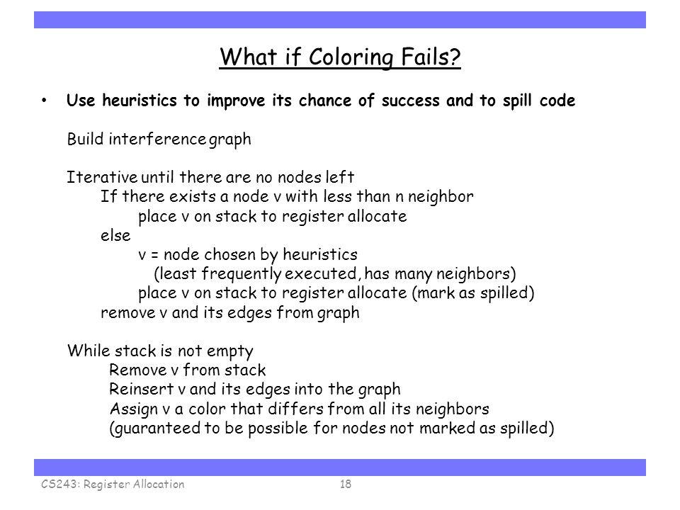 Carnegie Mellon What if Coloring Fails.