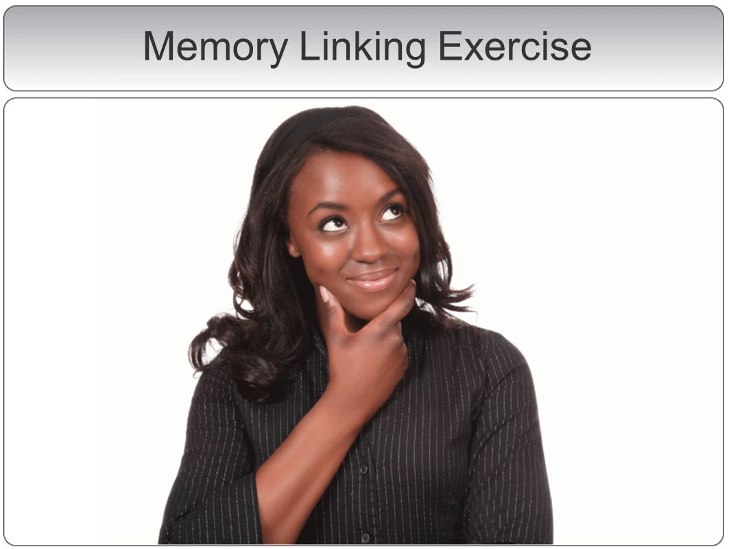 Memory Linking Exercise