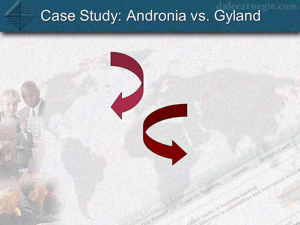 Case Study: Andronia vs. Gyland