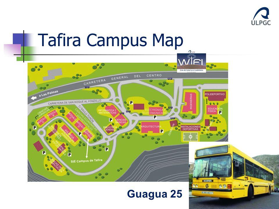 Tafira Campus Map Guagua 25
