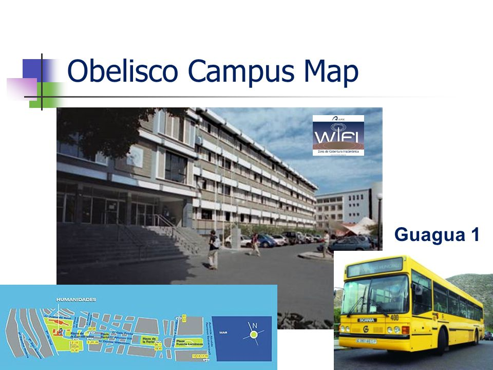 Obelisco Campus Map Guagua 1