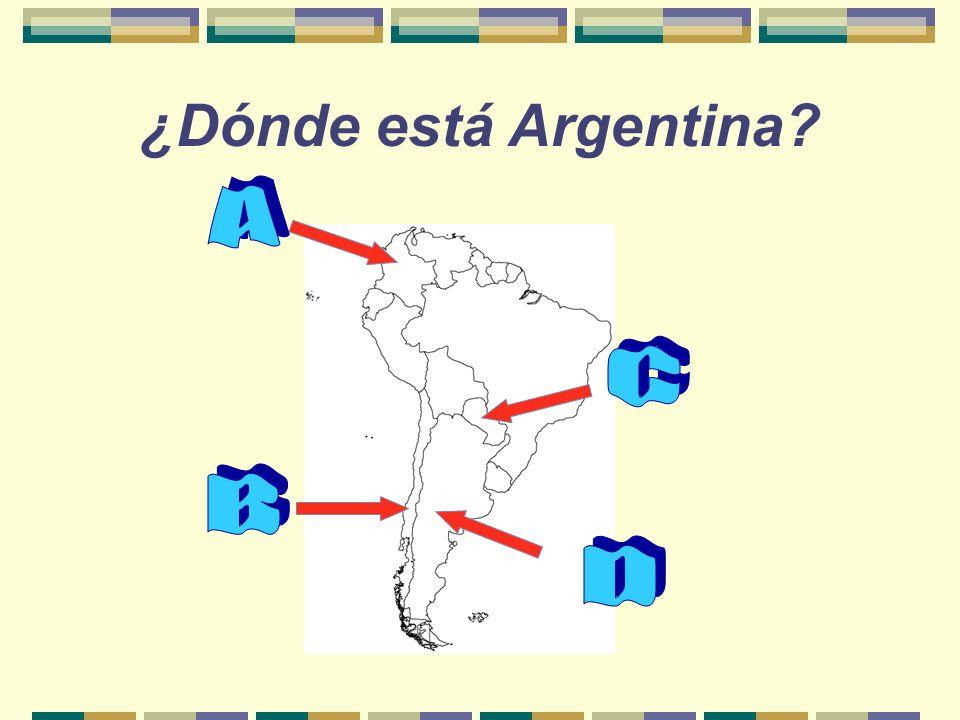 ¿Cuánto sabes de… ARGENTINA