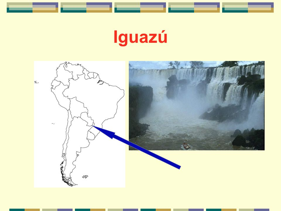 What is Iguazú known for?