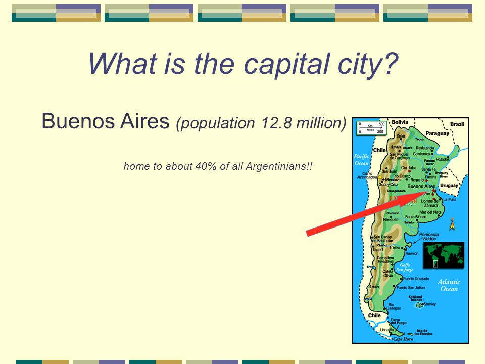 """What languages are spoken in Argentina? Spanish – ~95% (I knew that!!) Other languages – 5% Guaraní -- """"Aguije!"""" English Italian German French"""