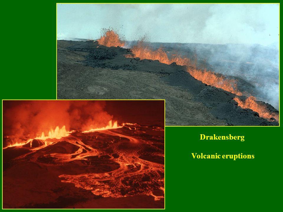 Drakensberg Volcanic eruptions
