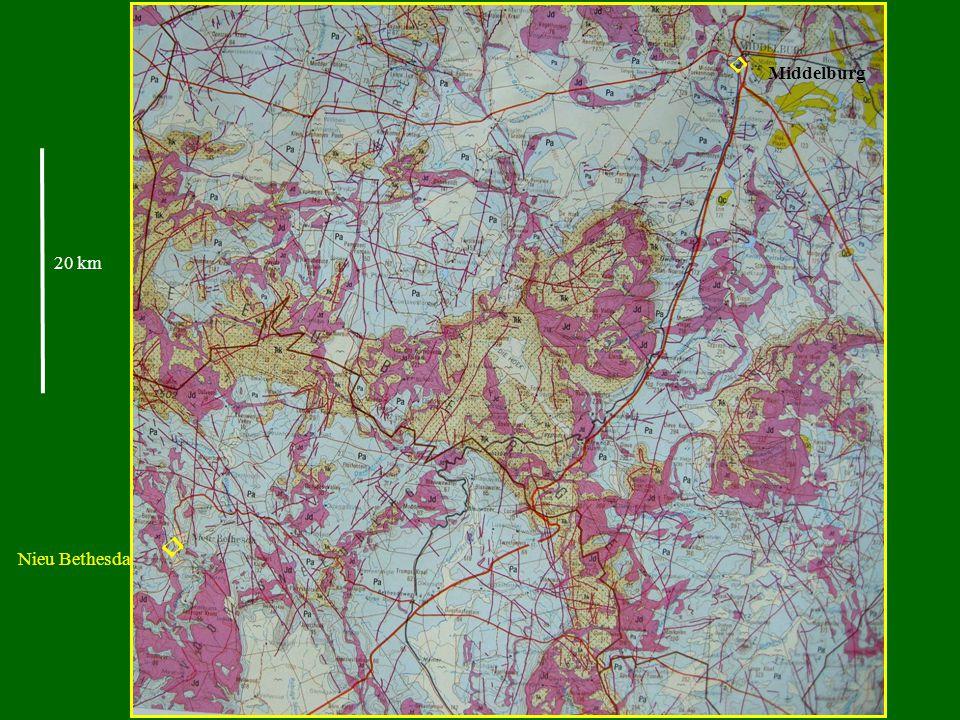 Nieu Bethesda Middelburg 20 km