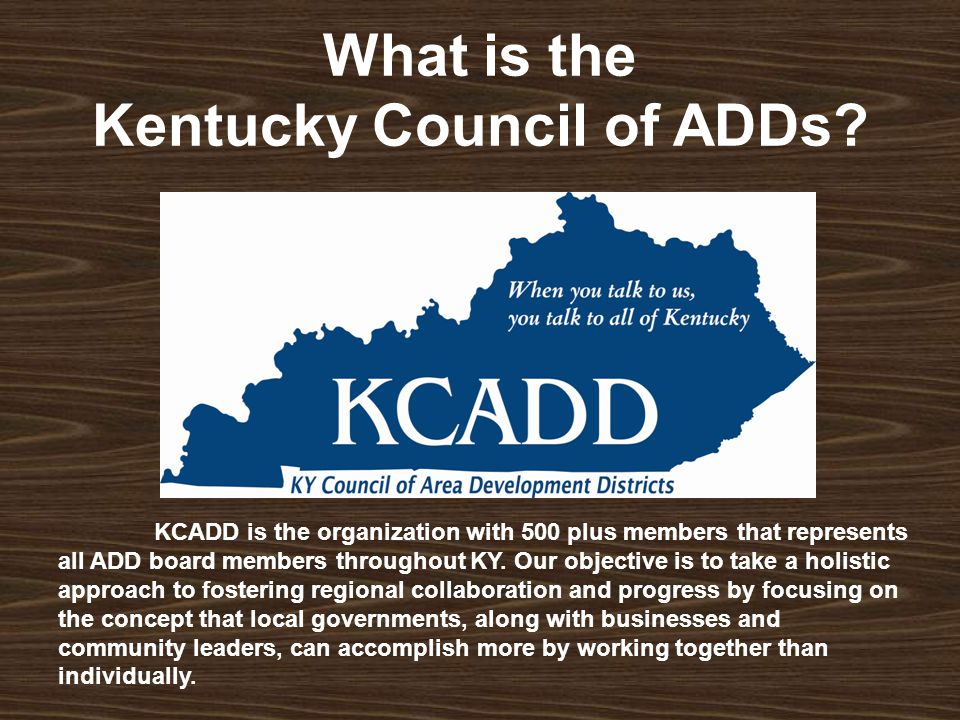 What is the Kentucky Council of ADDs.