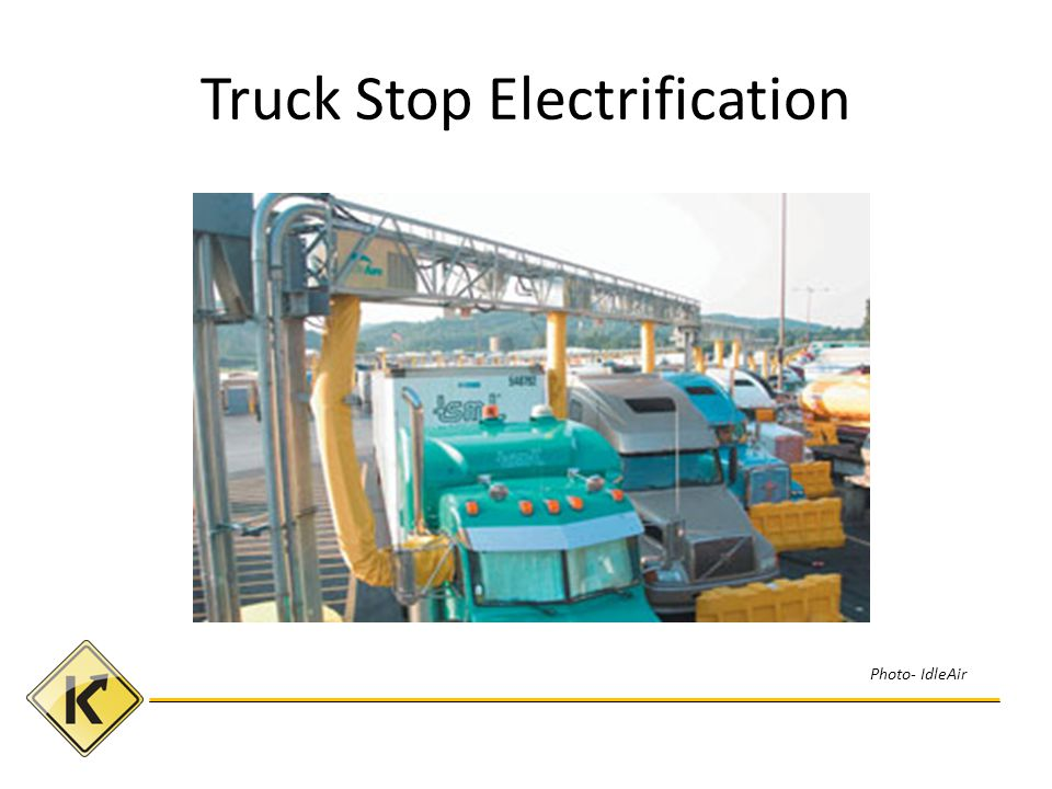 Truck Stop Electrification Photo- IdleAir