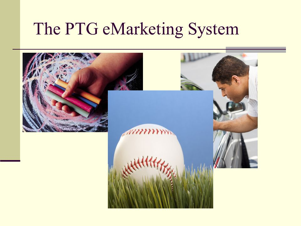 The PTG eMarketing System