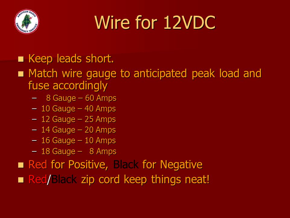 Beautiful Wire Gauge 20 Amp Circuit Pictures Inspiration ...