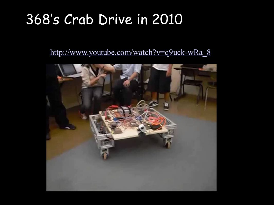 368's Crab Drive in v=q9uck-wRa_8