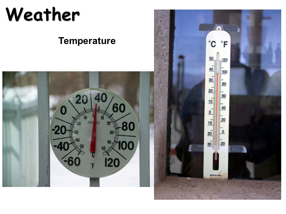 Weather Temperature