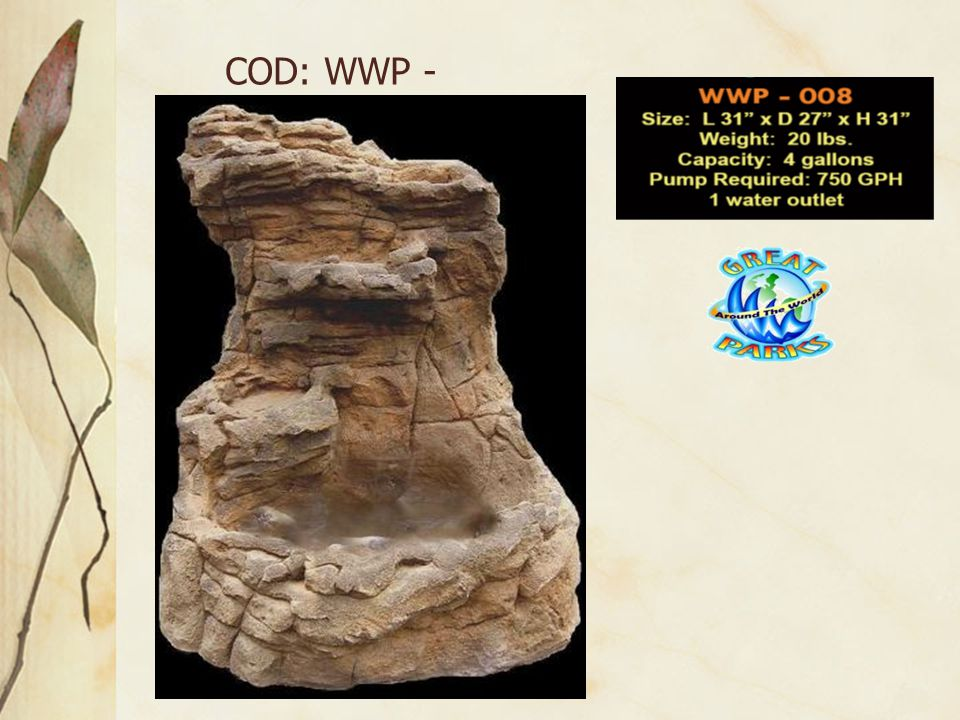 COD: WWP - 008