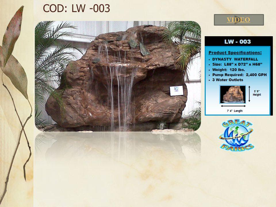 COD: LW -003 VIDEO
