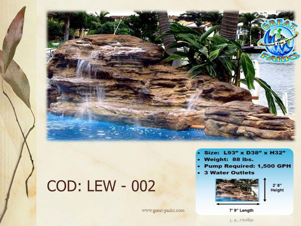 COD: LEW - 002 www.great-parks.com