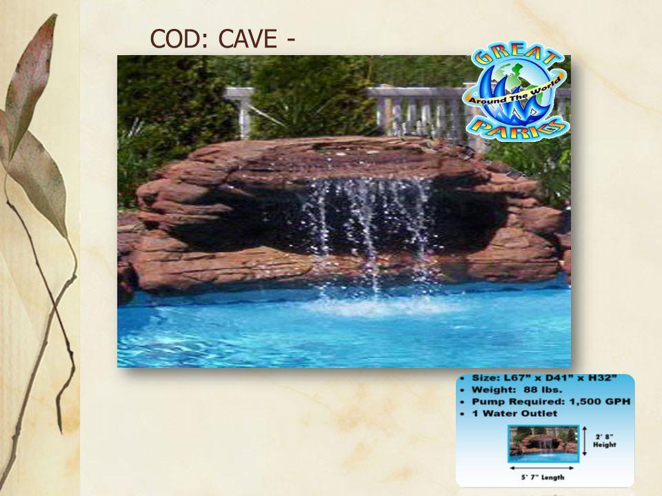 COD: CAVE - 004