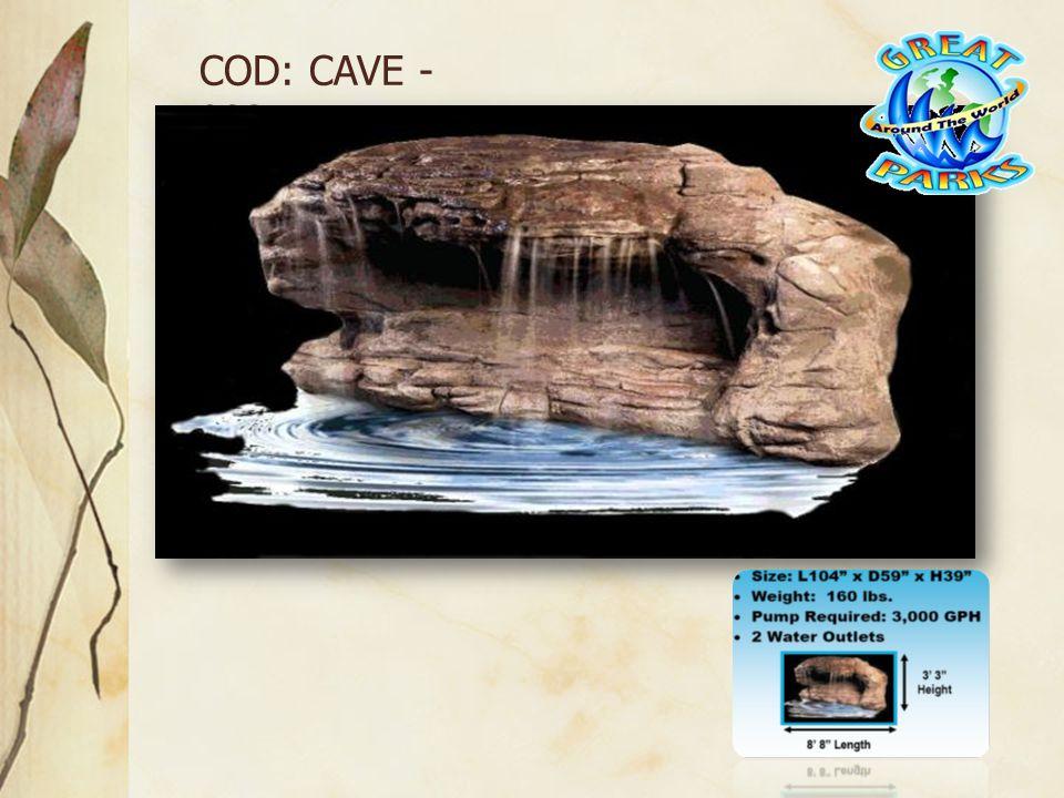 COD: CAVE - 003