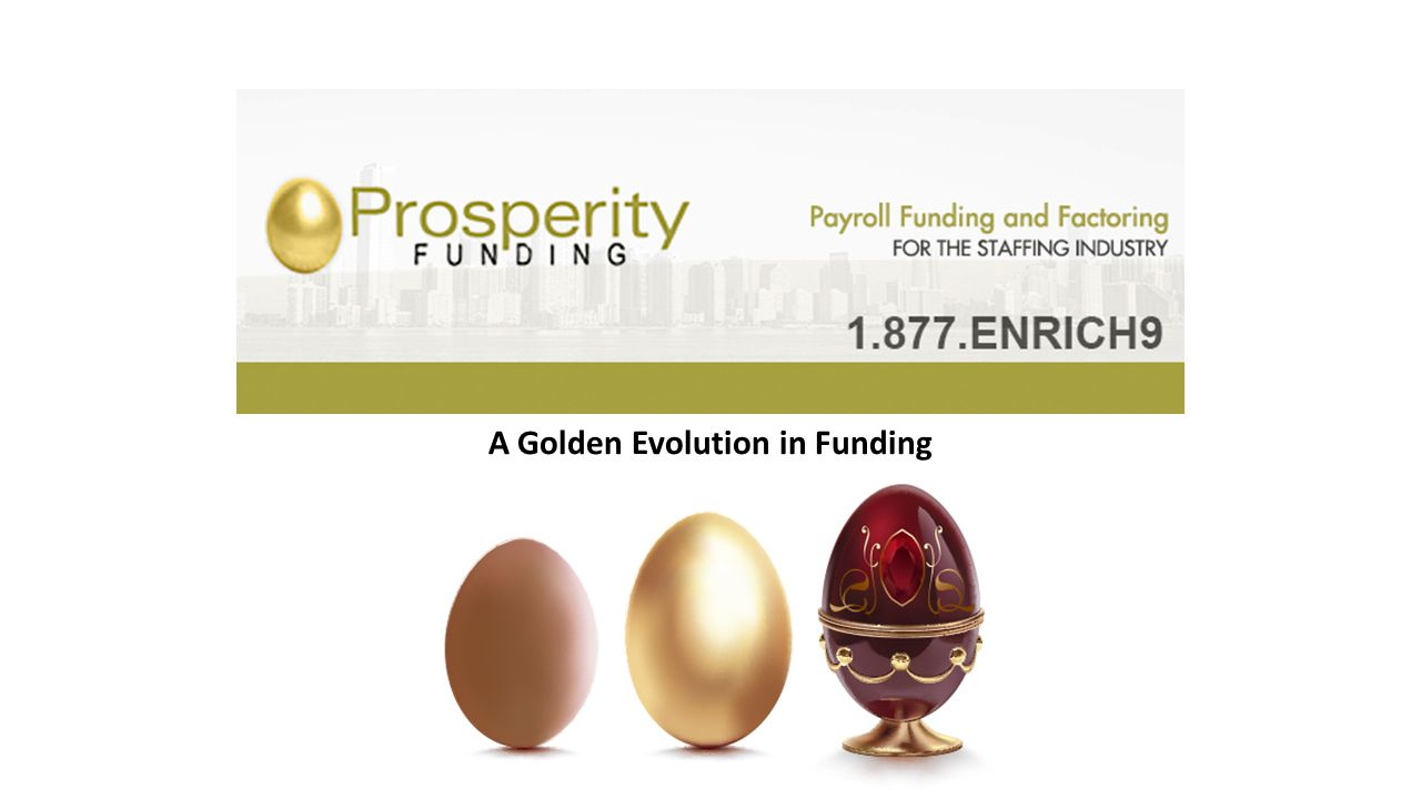 A Golden Evolution in Funding