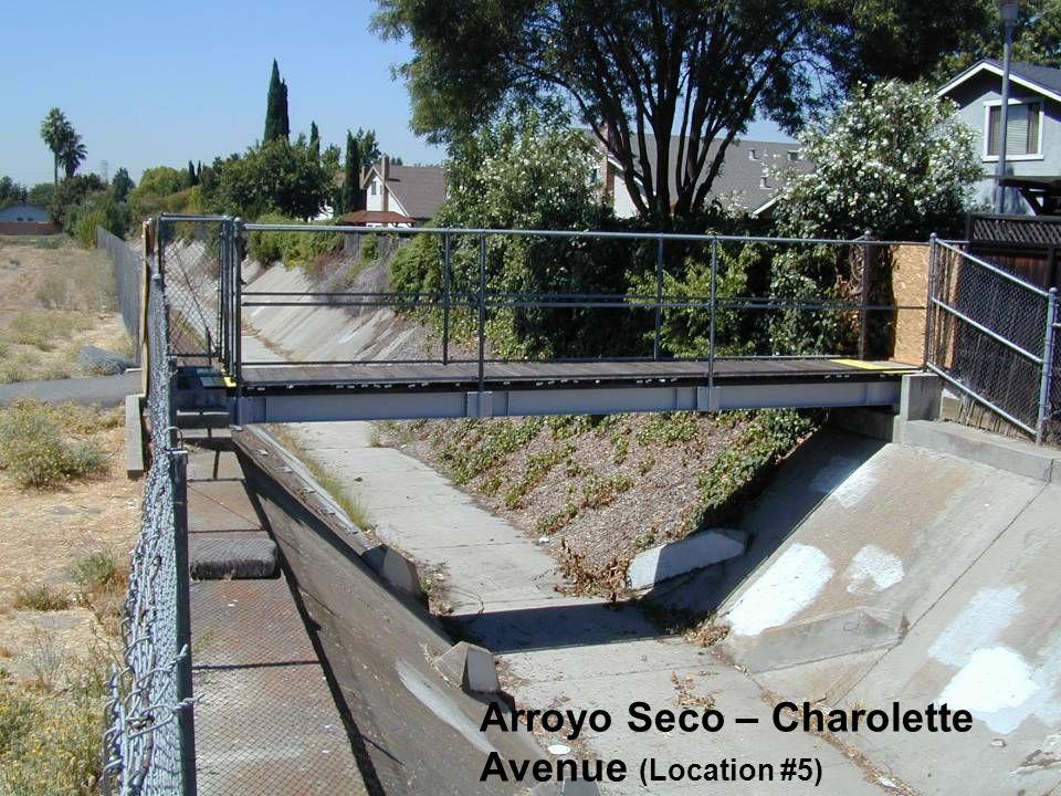 Arroyo Seco – Charolette Avenue (Location #5)
