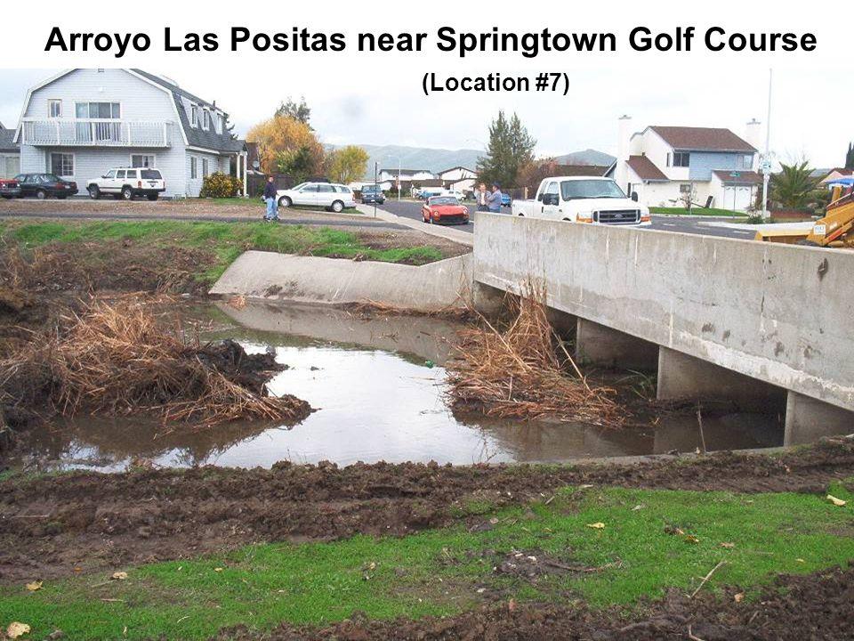 Arroyo Las Positas near Springtown Golf Course (Location #7)
