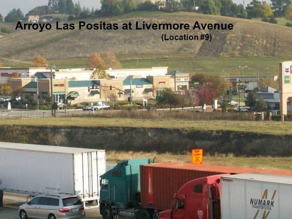 Sediment along the Arroyo Las Positas and Arroyo Mocho Arroyo Las Positas at Livermore Avenue (Location #9)
