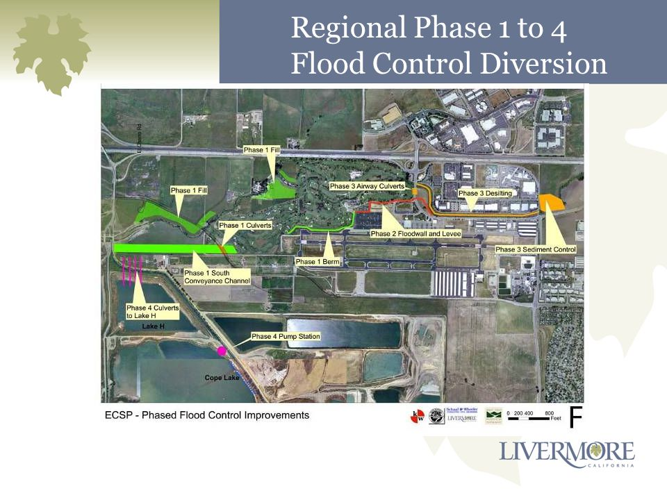 Regional Phase 1 to 4 Flood Control Diversion