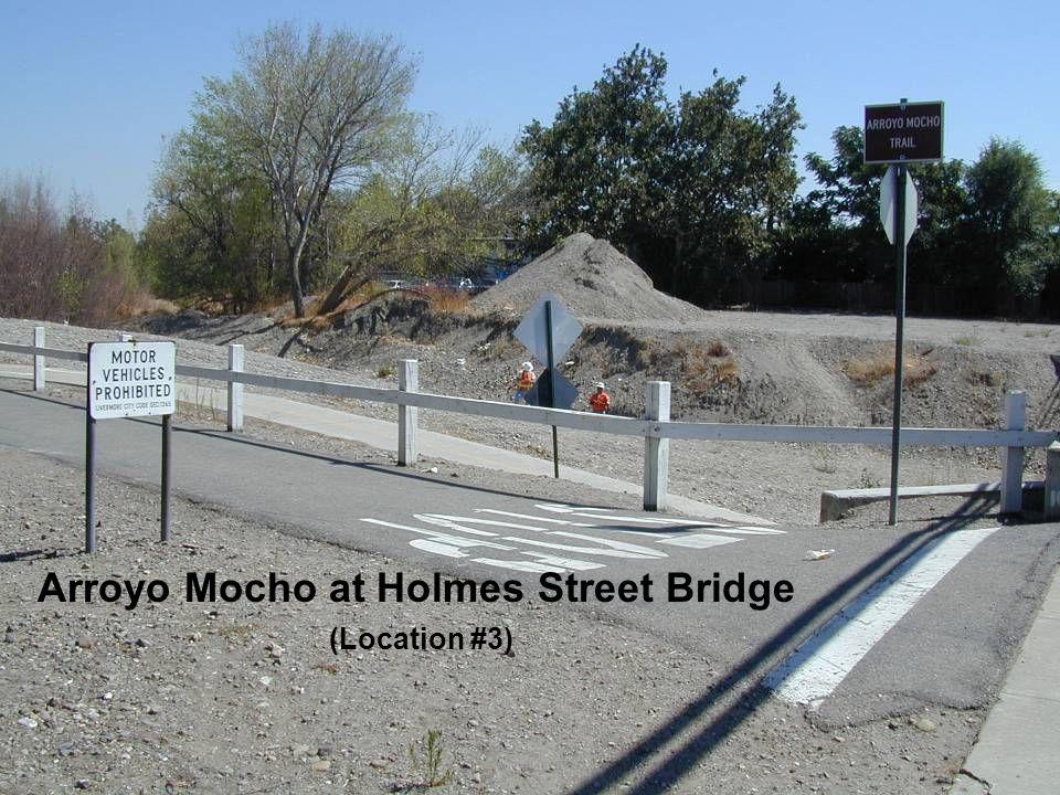 Arroyo Mocho at Holmes Street Bridge (Location #3)