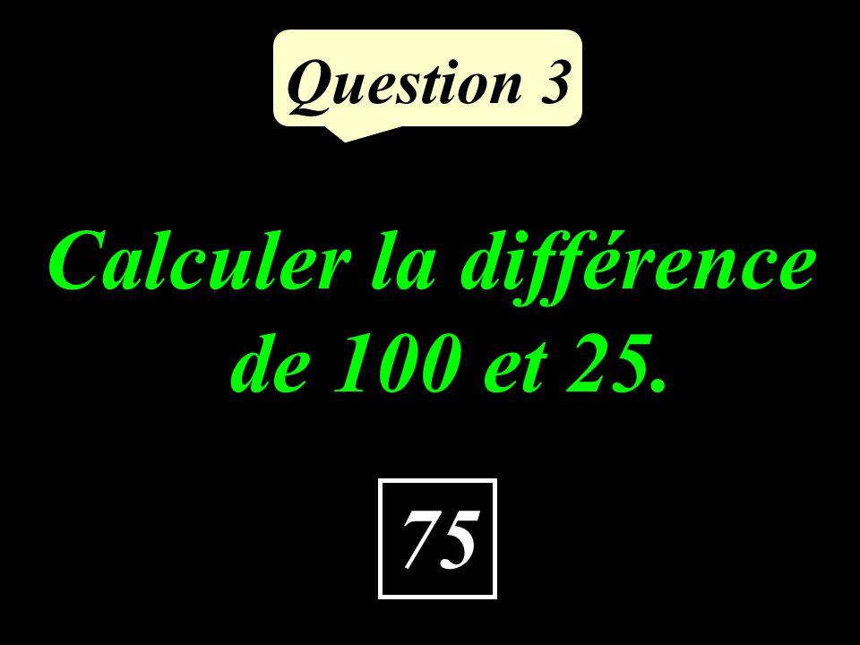 Question 2 18 Calculer le double du tiers de 27.