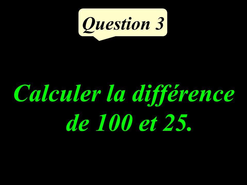Question 2 Calculer le double du tiers de 27.