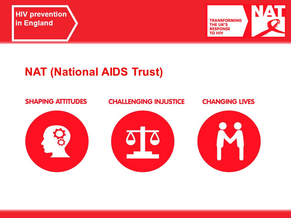 HIV prevention in England NAT (National AIDS Trust)