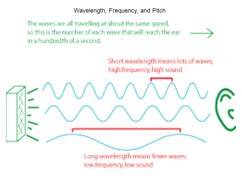 Wavelength, Frequency, and Pitch