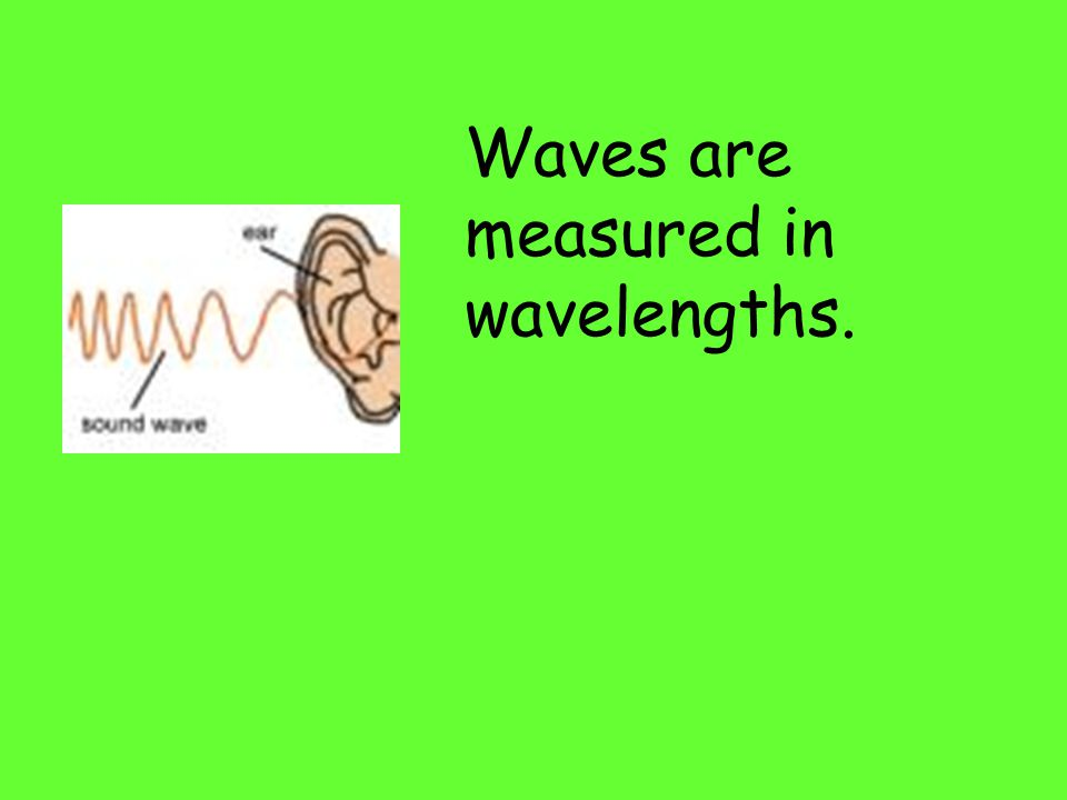 The top of a sound wave is called a crest or a peak, while the bottom of a sound wave is called a trough.