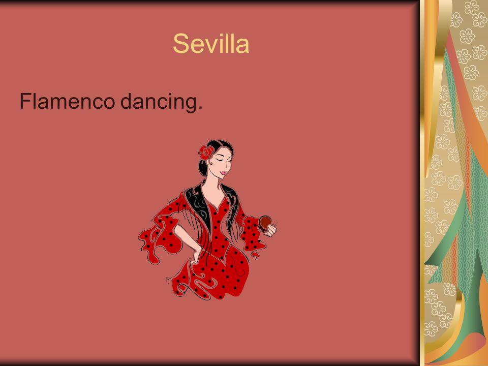 Sevilla Flamenco dancing.