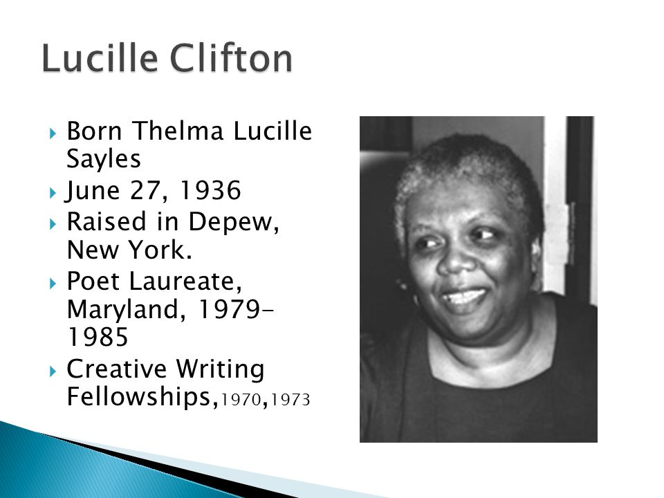  Born Thelma Lucille Sayles  June 27, 1936  Raised in Depew, New York.