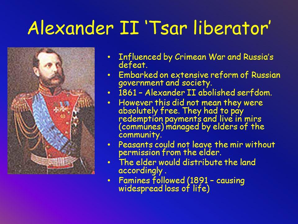 How did alexander II make russia a more liberal?