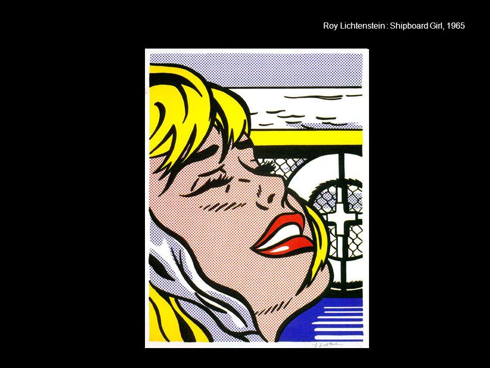 Roy Lichtenstein : Shipboard Girl, 1965