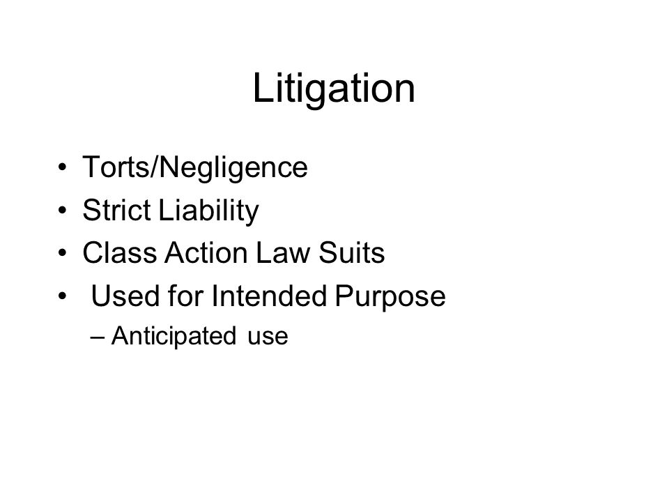 strict liability and negligence essay Intentional torts, negligence, nuisance essay strict liability in tort is a concept where the plaintiff need not prove the negligence of the defendant in.