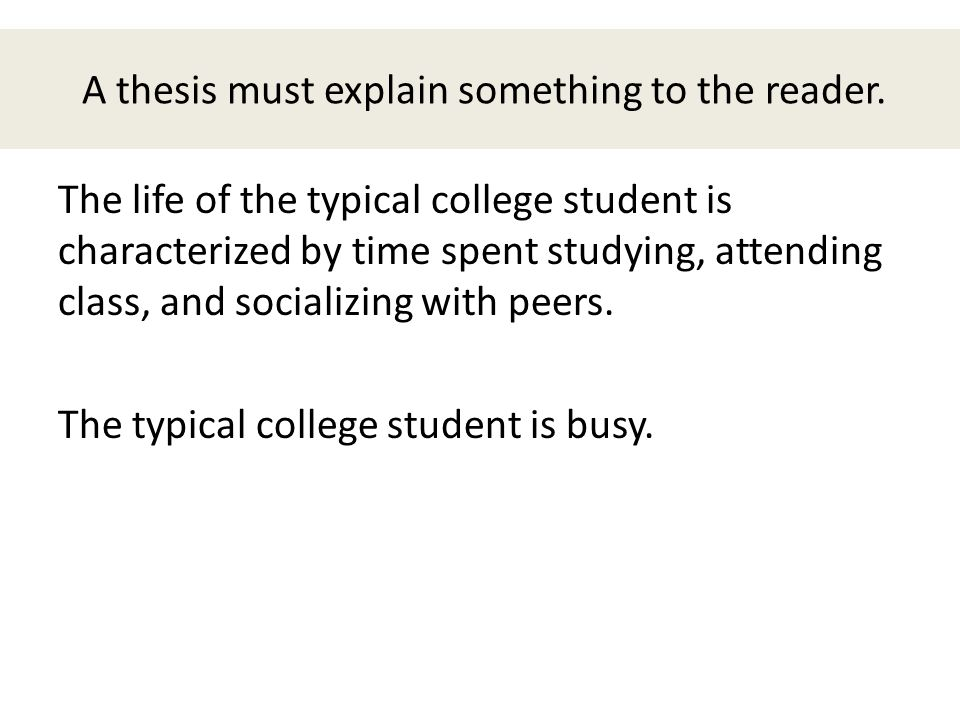 personal responsibility thesis statement Statement and informal outline personal responsibility thesis personal responsibility is taking accountability for all your thoughts, feelings and actions.