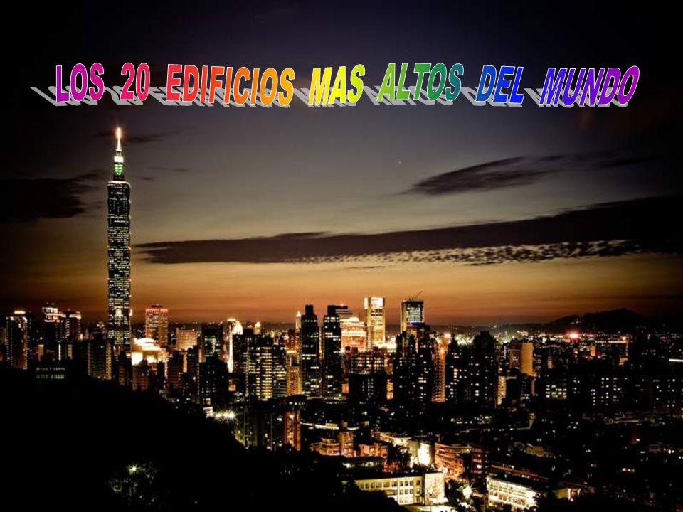 11- BANK OF CHINA TOWER Hong Kong Altura: 365 m
