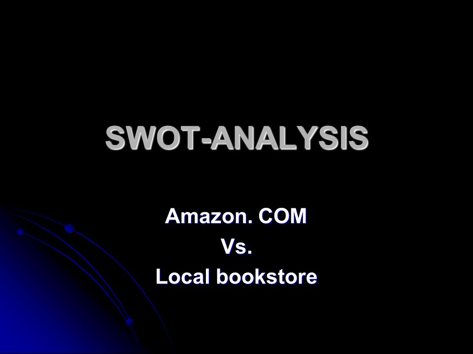 amazon swot analysis