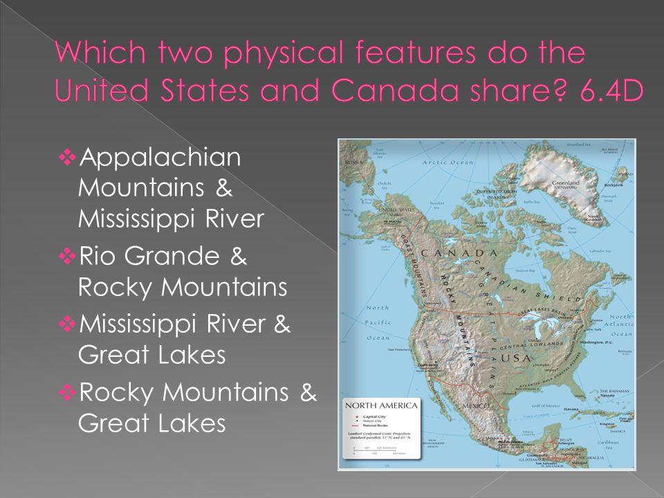 North American Union Map%0A        Appalachian Mountains  u     Mississippi River     Rio Grande  u     Rocky  Mountains     Mississippi River  u     Great Lakes     Rocky Mountains  u     Great Lakes