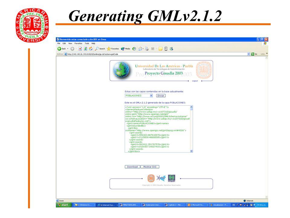 Generating GMLv2.1.2