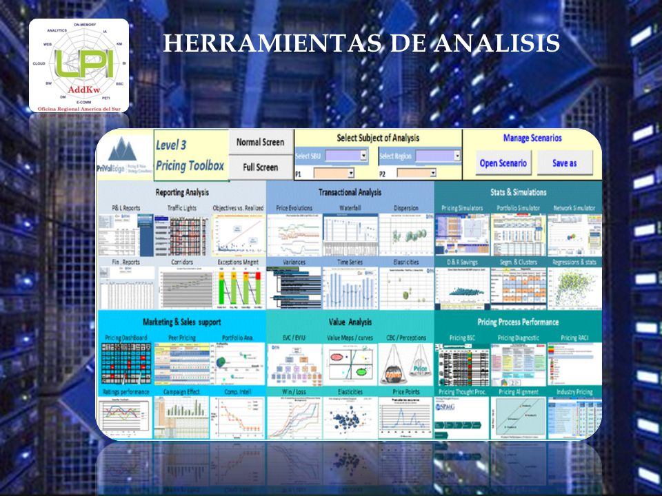 HERRAMIENTAS DE ANALISIS