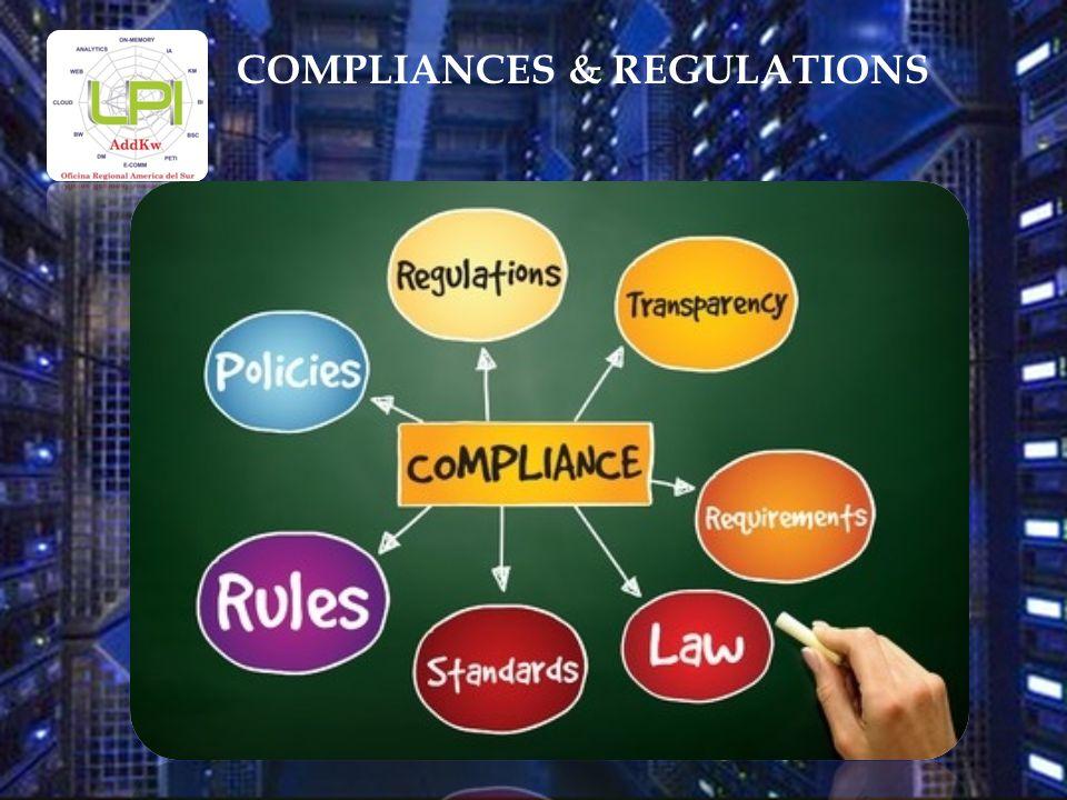 COMPLIANCES & REGULATIONS