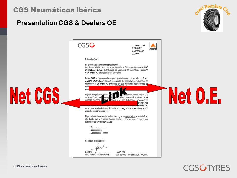 CGS Neumáticos Ibérica Presentation CGS & Dealers OE
