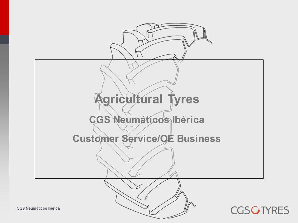 CGS Neumáticos Ibérica Agricultural Tyres CGS Neumáticos Ibérica Customer Service/OE Business