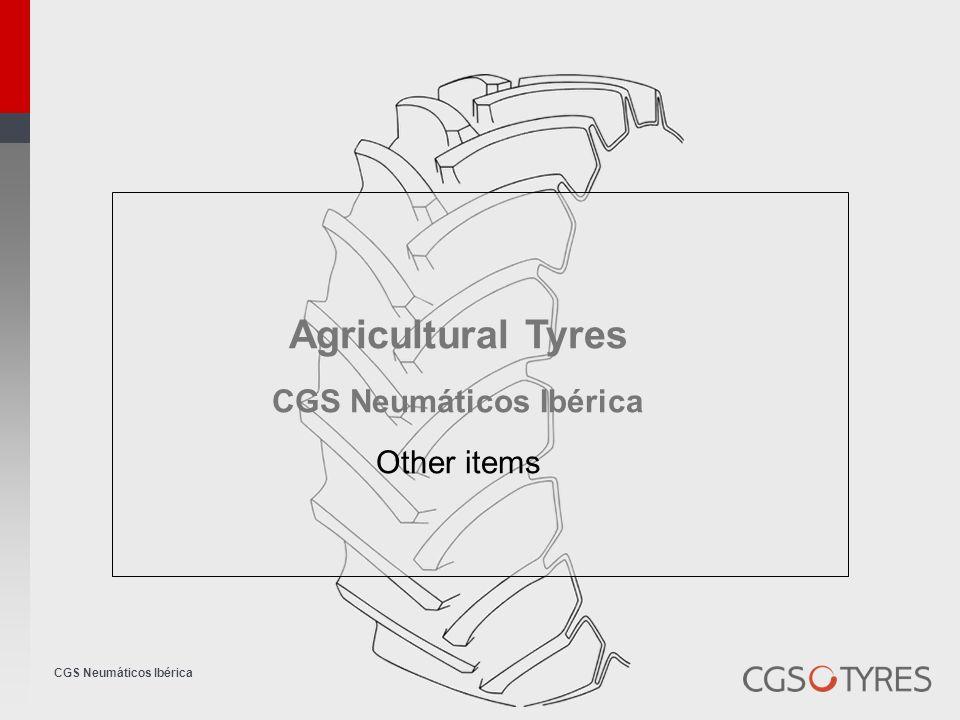 CGS Neumáticos Ibérica Agricultural Tyres CGS Neumáticos Ibérica Other items