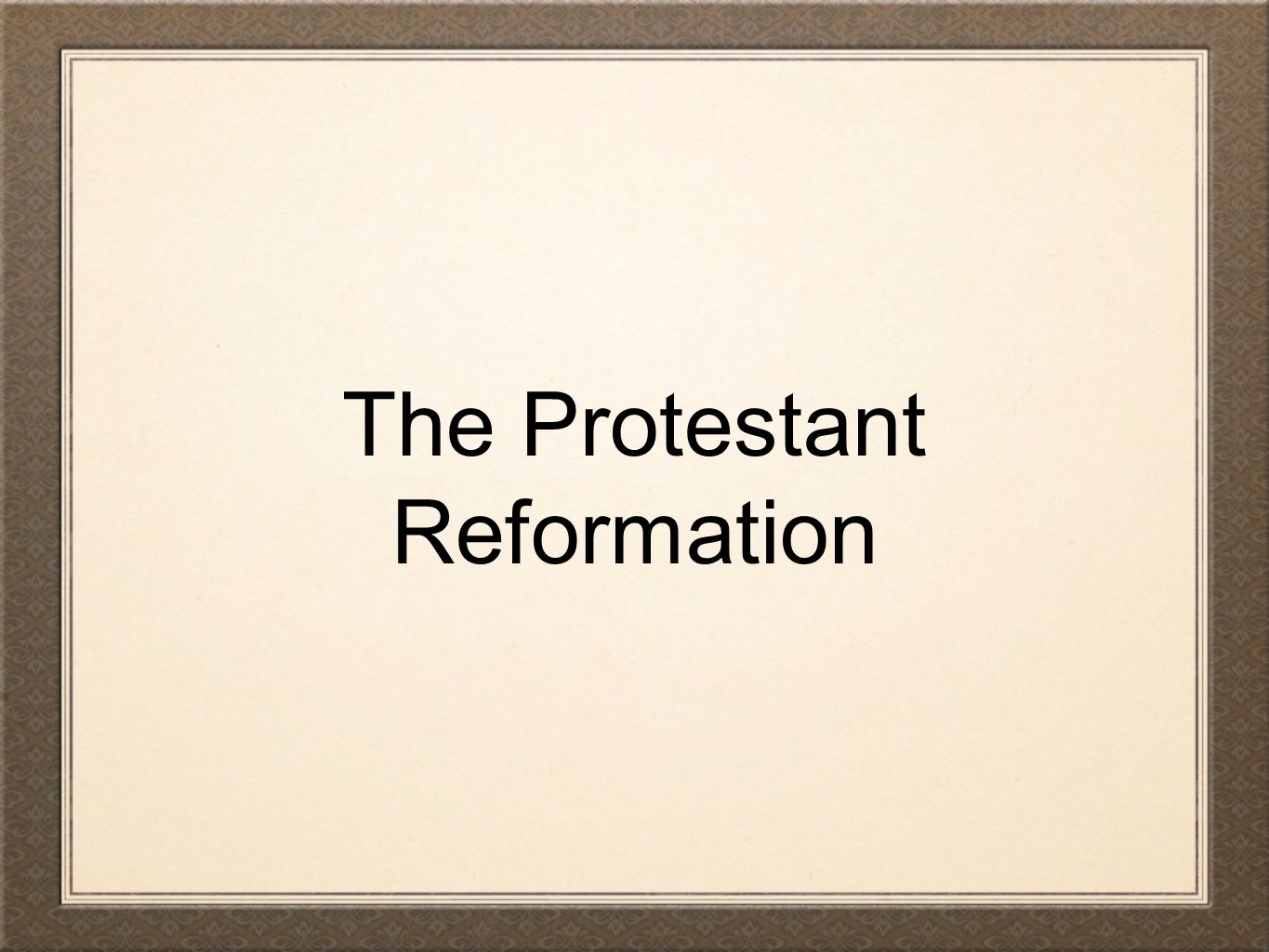 essay about the protestant reformation Реферат на тему the protestant reformation essay research paper скачать похожие рефераты подобные качественные рефераты he became the leader of the reformed sector of the reformation in geneva, switzerland calvin's whole thought revolved about the concept of.