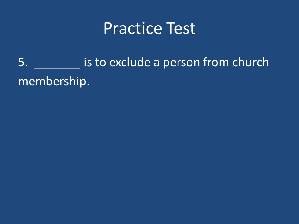 Practice Test 4. ________ is an agreement between the pope and the ruler of a country.
