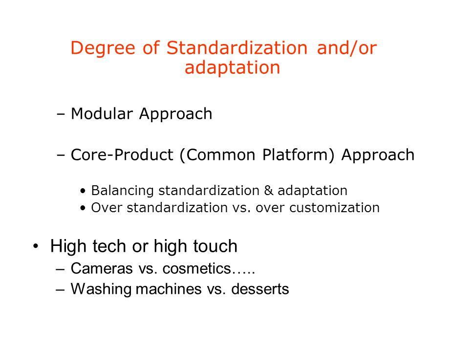 starbucks standardization and adaptation strategy